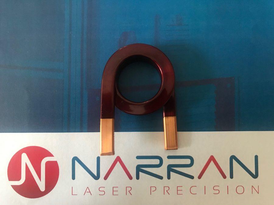 selektivní odstraňování ochranných vrstev - laser striping
